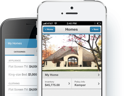 "Insurance Agent Demo Agency's"" mobile app"